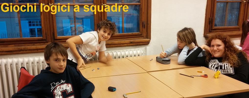 Campionato studentesco Giochi Logici a squadre