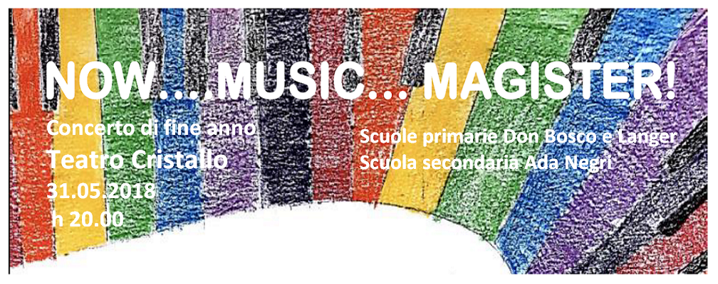 …NOW…MUSIC…MAGISTER!